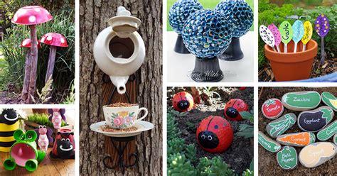 diy garden crafts ideas  designs