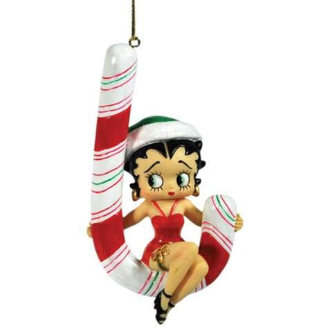 candy cane betty boop christmas ornament new westland tree