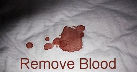 how to get blood out of bed sheets how to get rid of old blood stains on bed mattress