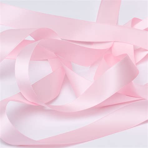 Babby Ribbon 2 baby pink satin ribbon