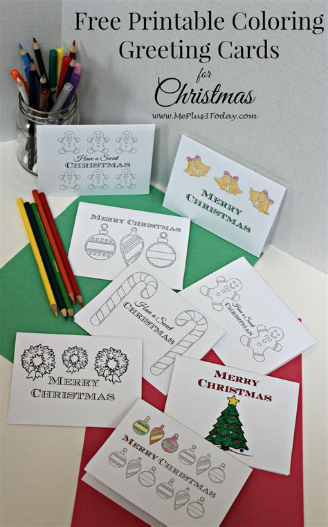 printable cheer up greeting cards use christmas coloring pages to spread kindness