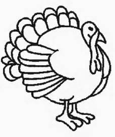 drawings of turkeys turkey line cliparts co