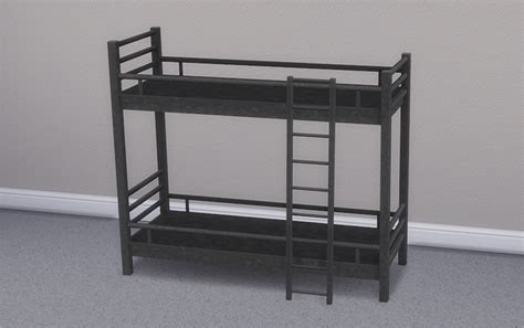 4 bunk bed my sims 4 loft bunk bed mattresses for