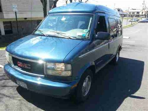 sell used 2002 gmc safari astro van all wheel drive conversion custom high top rv cer in