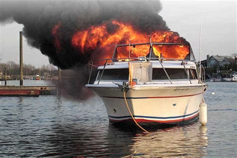 fire boat your boat s on fire now what boatus magazine
