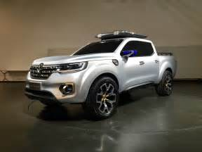 Renault Up Renault Alaskan Ute Up And Personal With The