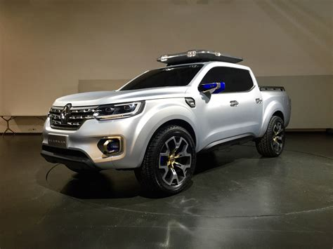 renault alaskan ute  close  personal   french pick  concept  caradvice