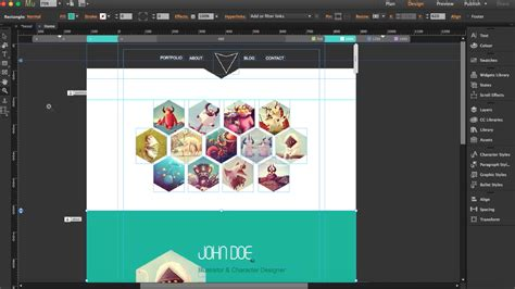 how to build a responsive website with adobe muse