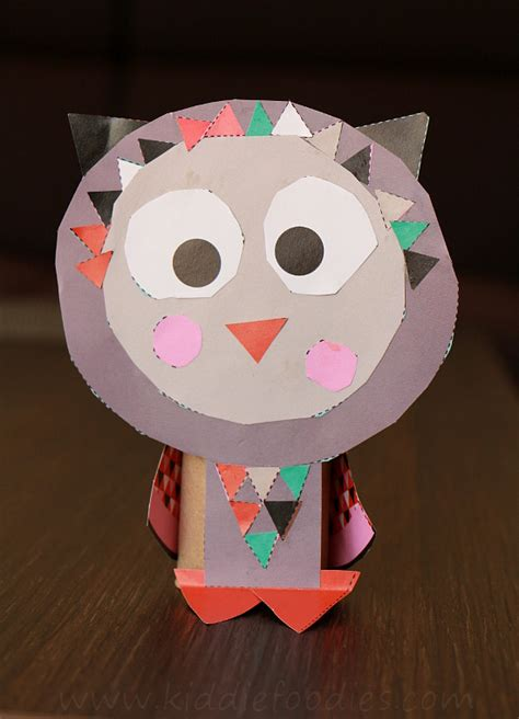 Paper Animal Crafts - toilet paper animal crafts