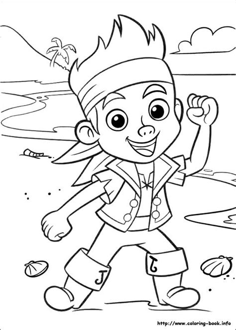 disney coloring pages jake and the neverland pirates jake and the never land pirates coloring picture