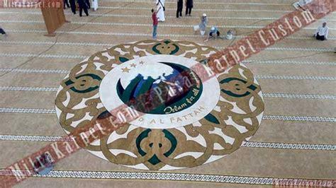 Karpet Masjid Di Tasikmalaya karpet masjid al fattah tasikmalaya jawa barat pusat