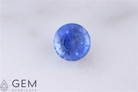Blue Sapphire 6 15ct 1 15ct blue sapphire 6 00mm gem syndicate