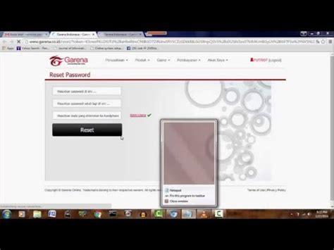 cara membuat kode pb garena lupa password pb garena gameonlineflash com