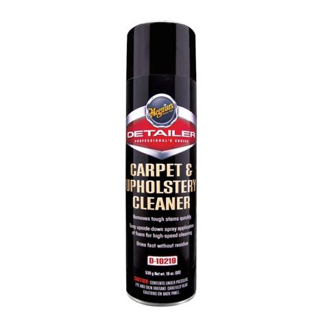 meguiars upholstery cleaner meguiar s carpet upholstery cleaner d10219 19 oz