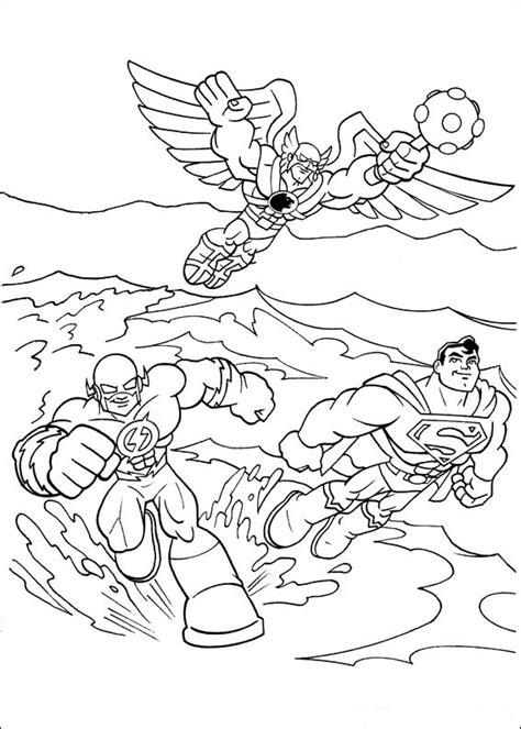 superfriends coloring pages coloringpages1001 com