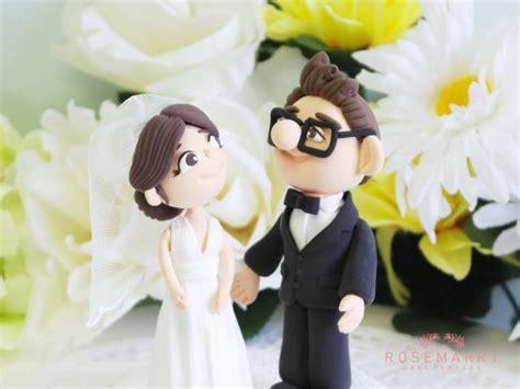 up film wedding custom wedding cake topper elli carl from movie up