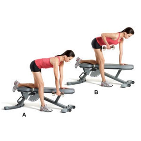 dumbbell bench rows 15 minutes total body workout