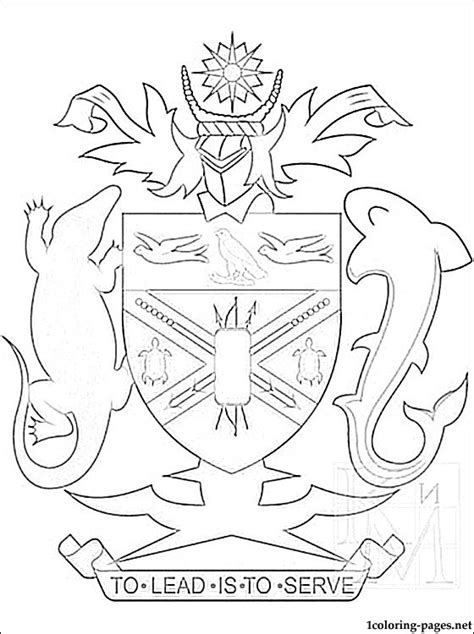 free coloring pages of uk coat of arms