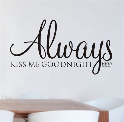 constantly me always me goodnight wall quote sticker wa031x