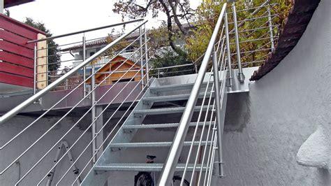 treppengeländer rund www metall fritz metallbau