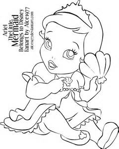 Baby Ariel Colouring Pages Pinterest Disney Baby Disney Princess Coloring Pages