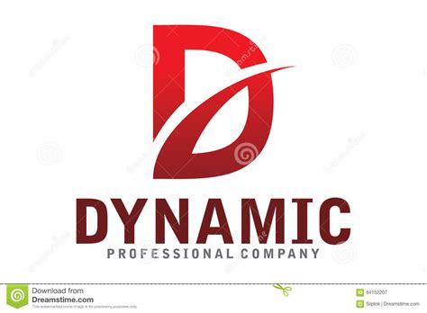 design dynamic logo dynamic logo stock vector image 84152207