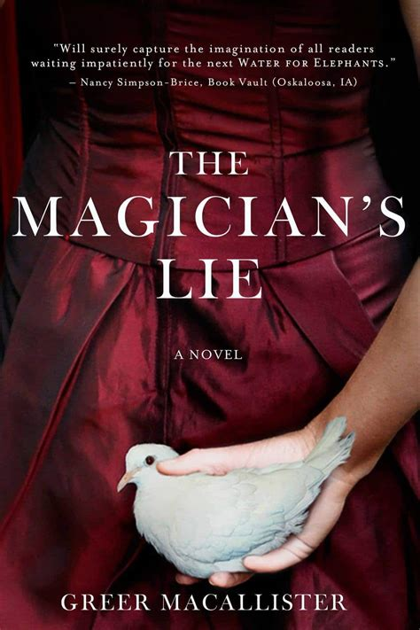 a s lie books advanced book review the magician s lie a must read