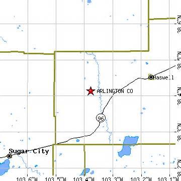 karval colorado map arlington colorado co population data races housing