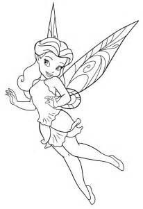disney fairies coloring pages disney fairy rosetta by mercuriusneko on deviantart