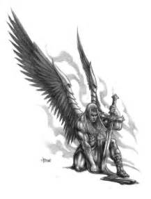 best 25 angel warrior tattoo ideas on pinterest