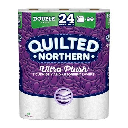 Who Makes Northern Toilet Paper - quilted northern ultra plush 174 3 ply toilet paper 12