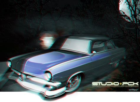 Custom Fullprint 3d 24 22 best images about rod on cars car drawings and coupe