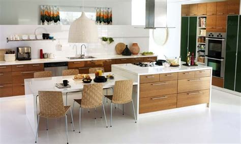 kitchen island with table extension google search combination kitchen island dining table google search