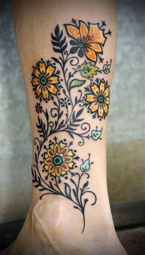 flower tattoo up leg 74 gorgeous flower tattoos design mens craze
