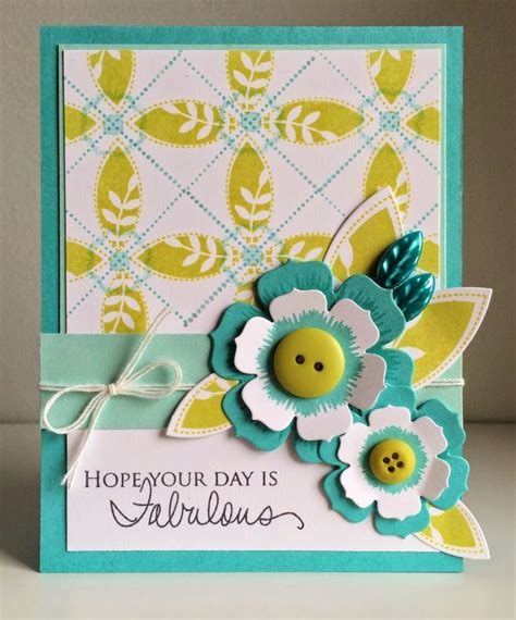 flower sts for card 1056 best cards pti images on diy cards