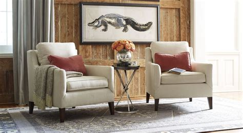 armchair in living room classic living room sets furniture thomasville