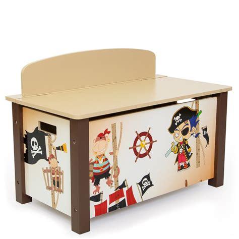 coffre chambre enfant coffre 224 jouets en bois meuble chambre enfant motif pirate