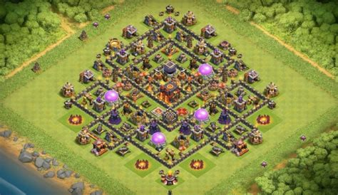 th10 layout names 11 anti dragon farm and war base designs that work th7 to th10