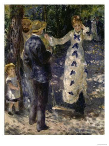 pierre auguste renoir the swing the swing c 1876 giclee print by pierre auguste renoir at