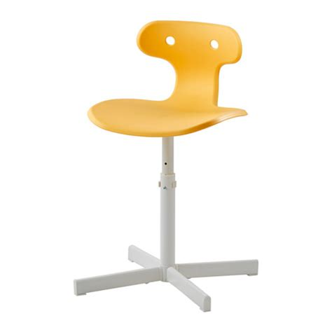molte desk chair yellow ikea