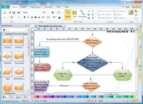 flowchart software microsoft easy flowchart tools