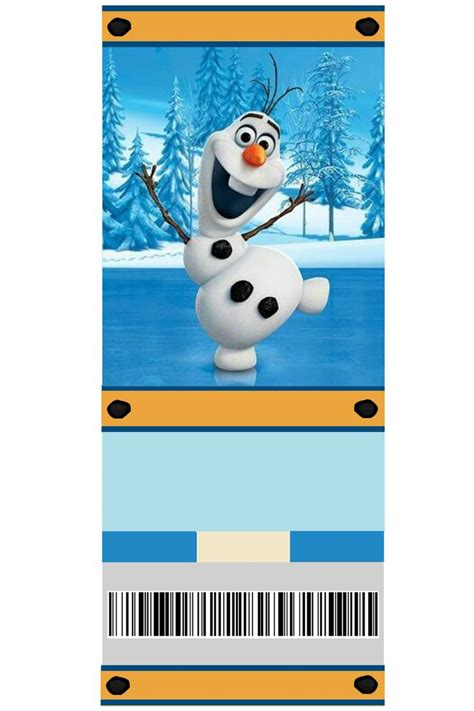 printable olaf invitations free printable frozen invitation olaf photo by