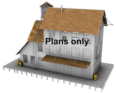 scale model house plans ho scale building plans free printable n scale buildings free ho scale buildings