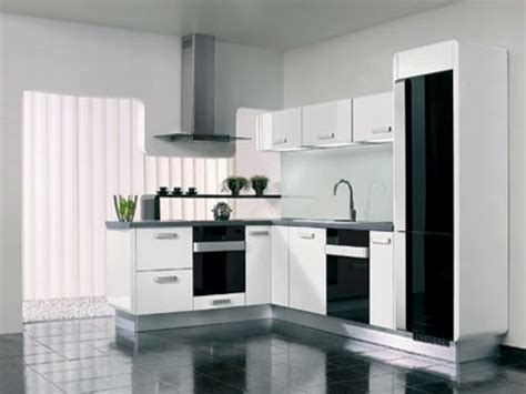 small black and white kitchen ideas tiny corner area for minimalist kitchen design with black
