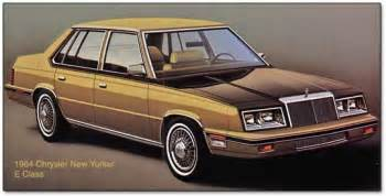 Chrysler E Chrysler Jeep Plymouth And Dodge 1984 Cars Trucks And