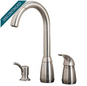 stainless steel contempra 1 handle kitchen faucet 526 50ss pfister faucets