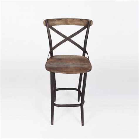 chaise haute chaise haute de bar bistro industrielle
