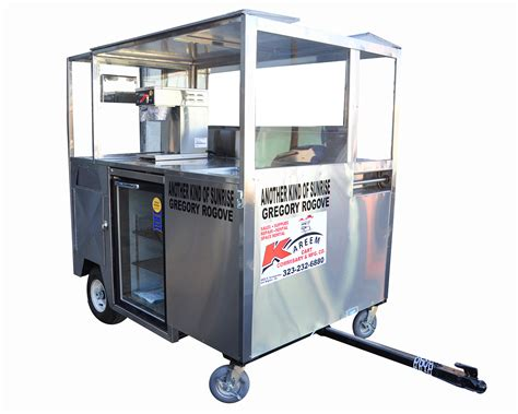 Kareem Carts Commissary & Manufacturing, Co. :: Coffee Trailer Carts Category