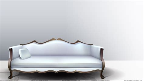 white sofa and loveseat single pillow on white sofa and white background wallpaper
