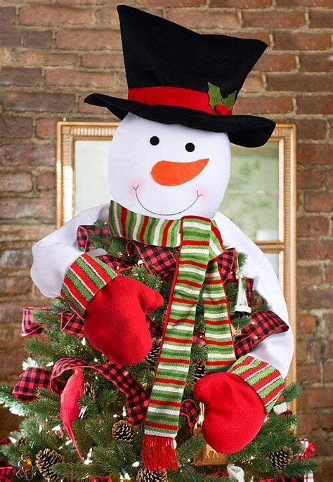 how to make a snowman tree hugger top 20 tree toppers 2019 absolute